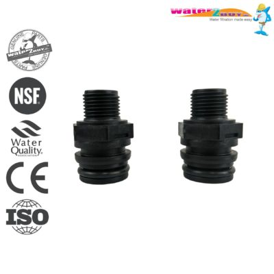 "Plumbing Fittings Standard 1/2"" (15mm) For Water Softeners By Water2buy"